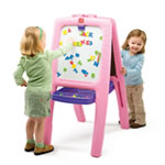Easel for Two, Pink