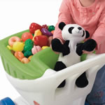 pretend play plastic cart