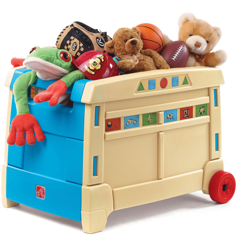 Lift Amp Roll Toy Box Toy Boxes By Step2
