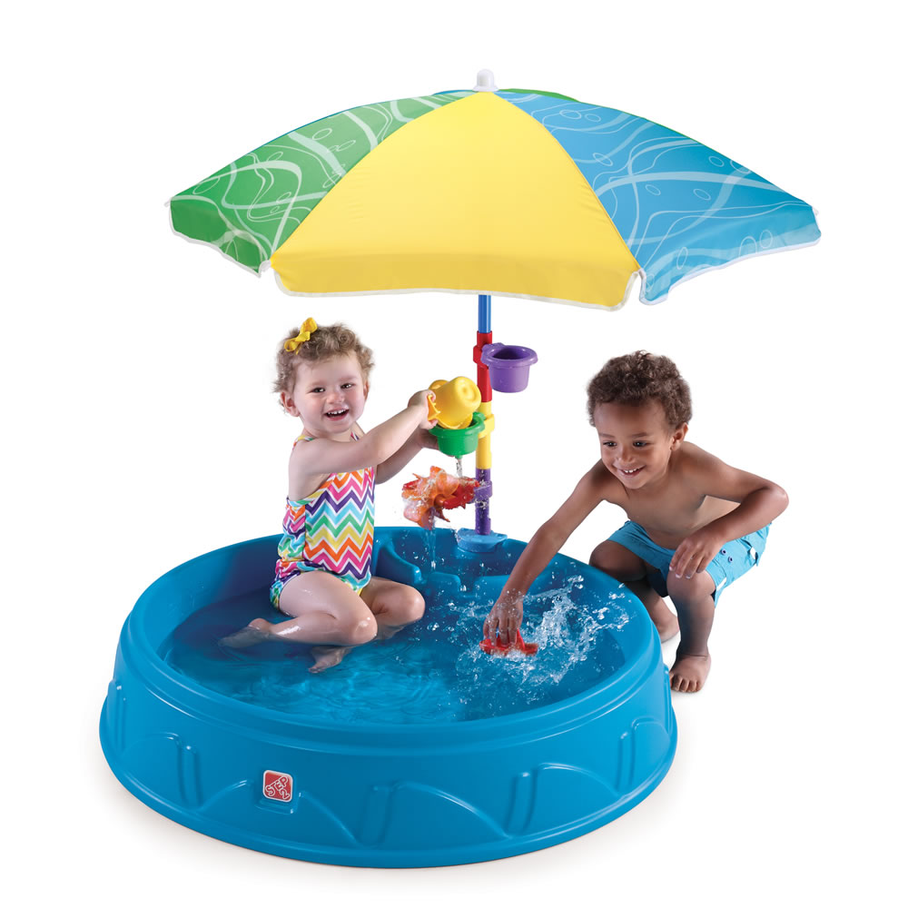 Step 2 Toys For Toddlers : Play shade pool kids sand water step