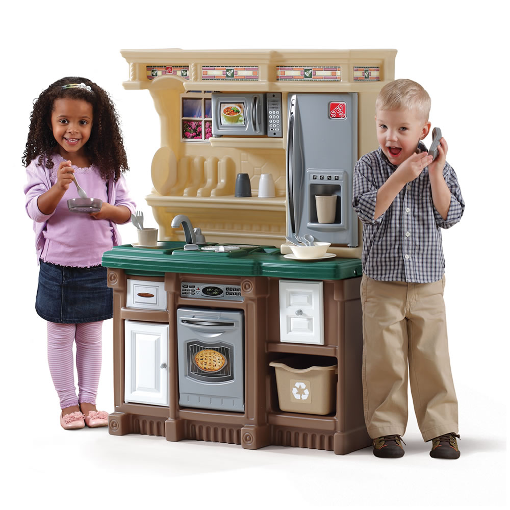 LifeStyle Custom Kitchen Kids Play Step2