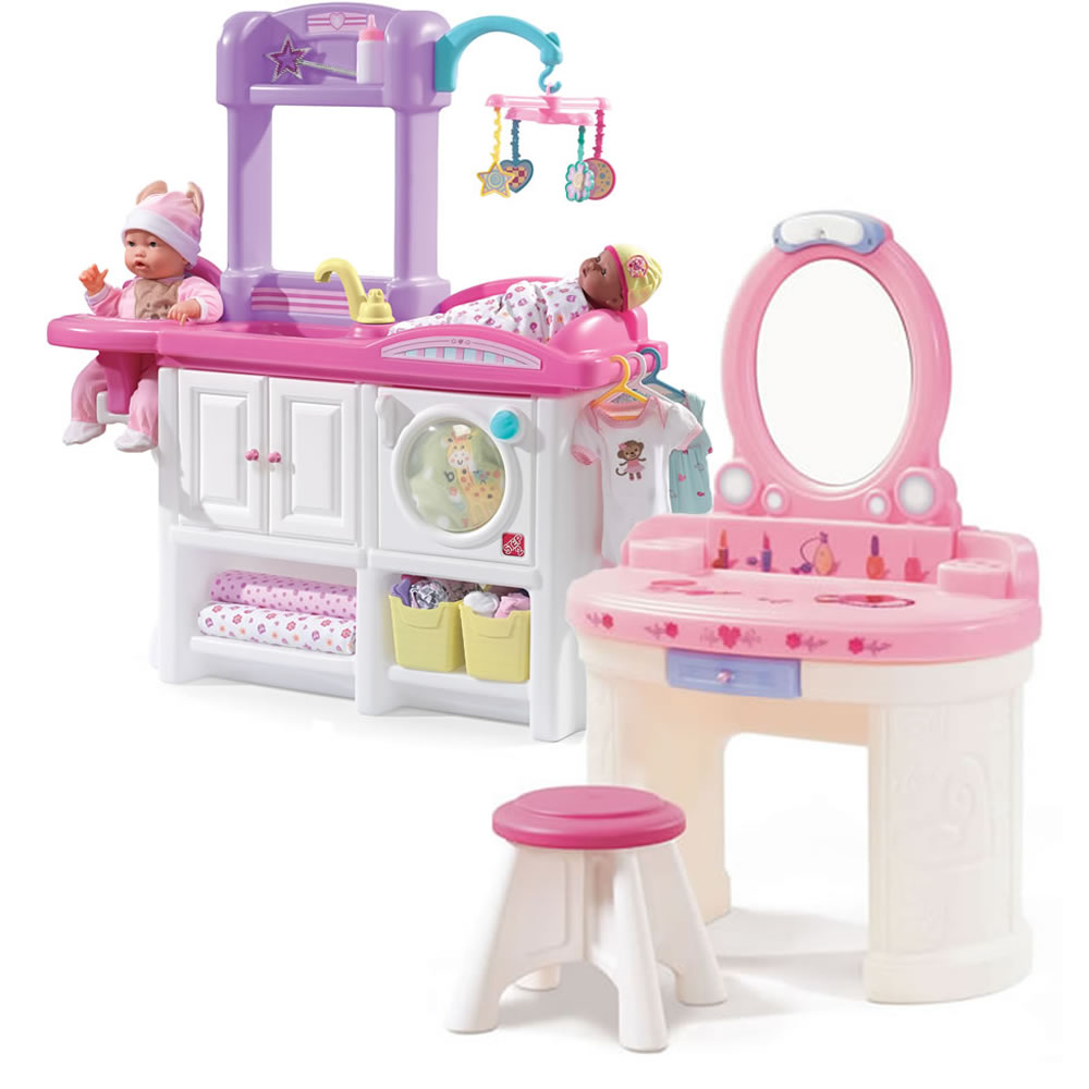Pamper And Care Combo Pretend Play Toys Step2