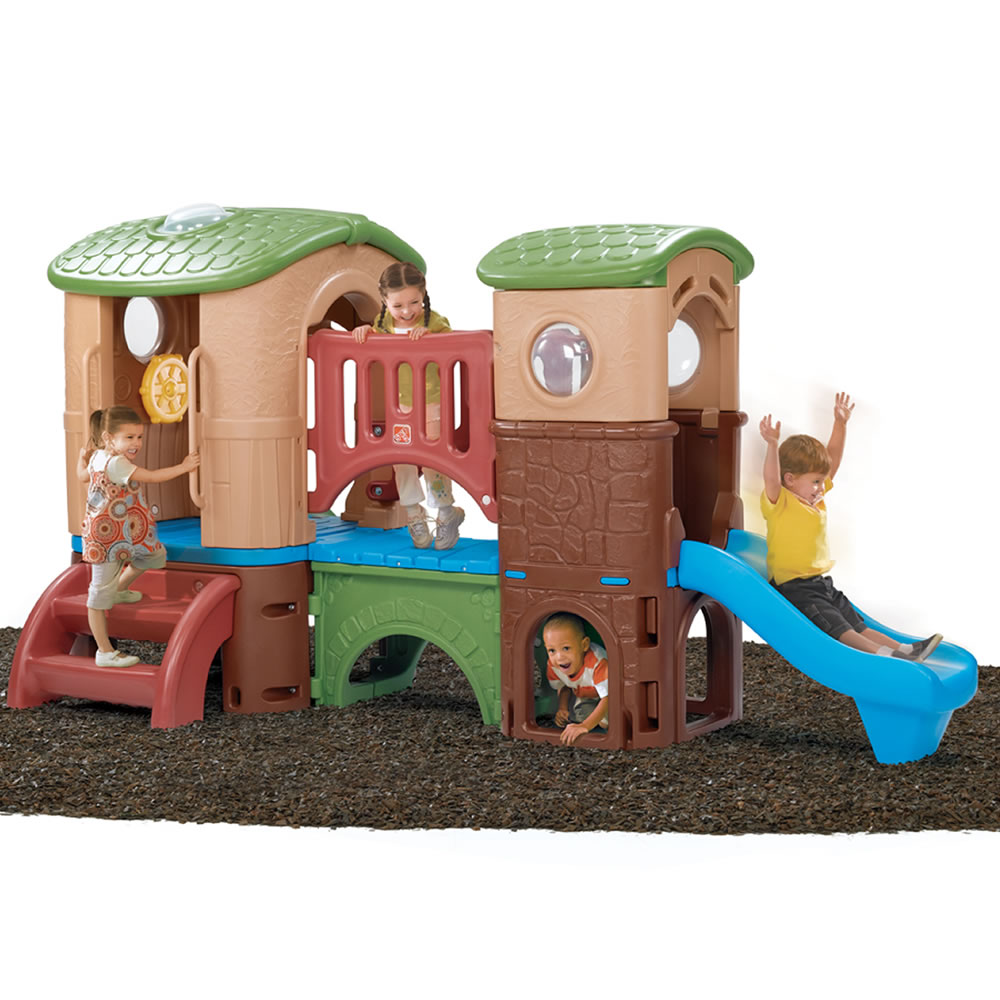 Playground Toys For Toddlers : Clubhouse climber outdoor play by step