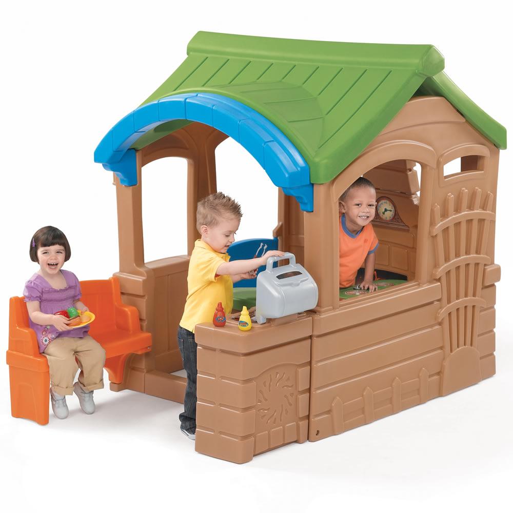 Gather Amp Grille Playhouse Kids Playhouse Step2