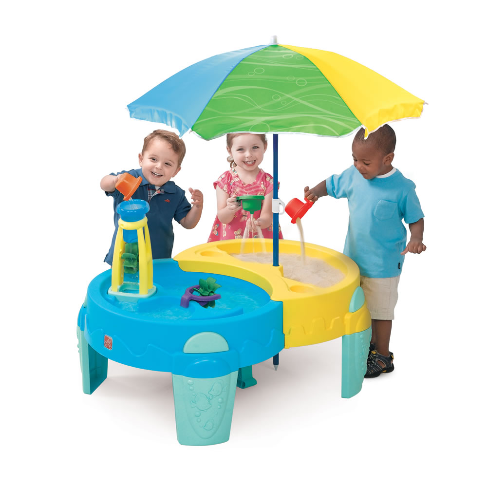 Shady Oasis Sand amp Water Play Table Step2