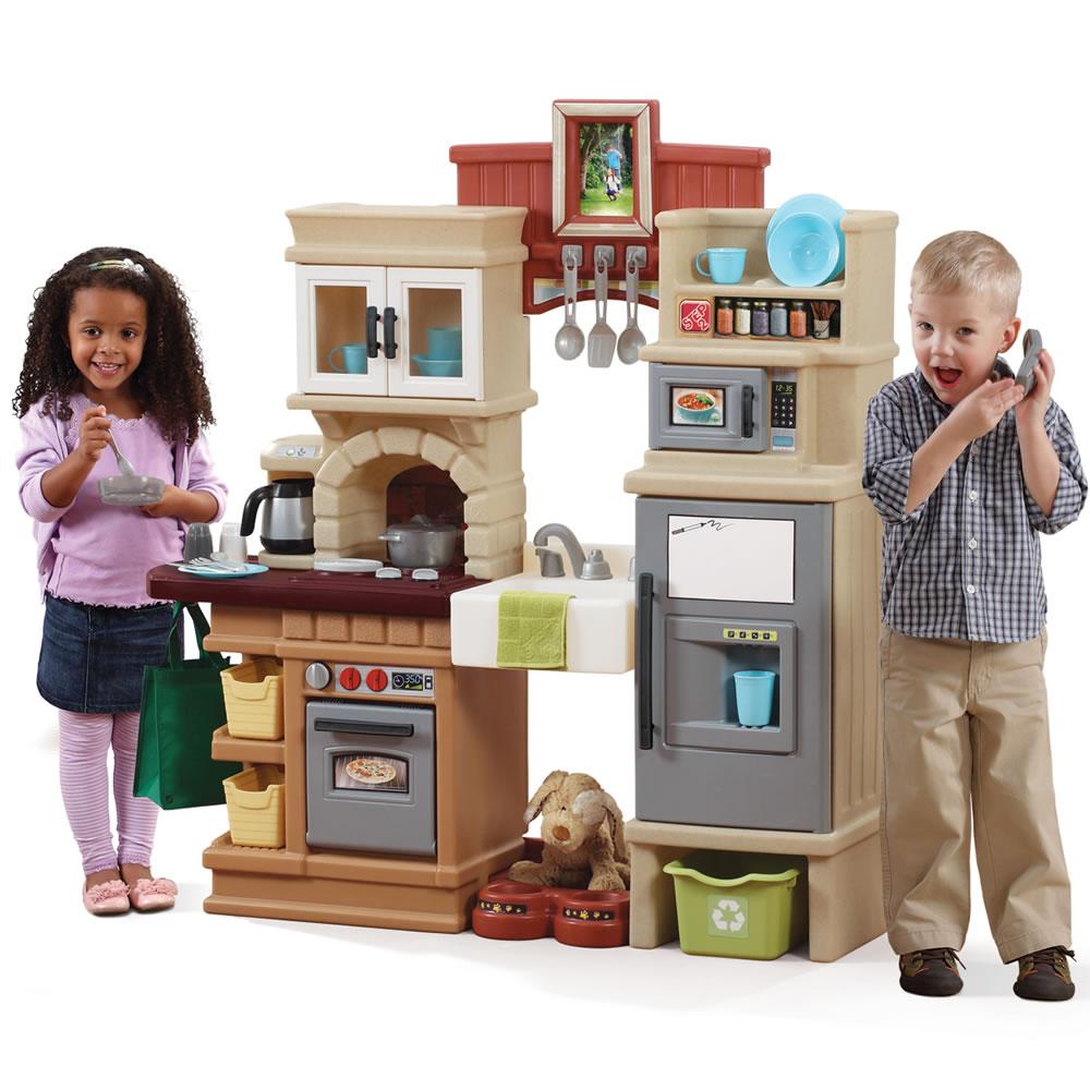 Kids Kitchen Set With Sink And Refrigerator
