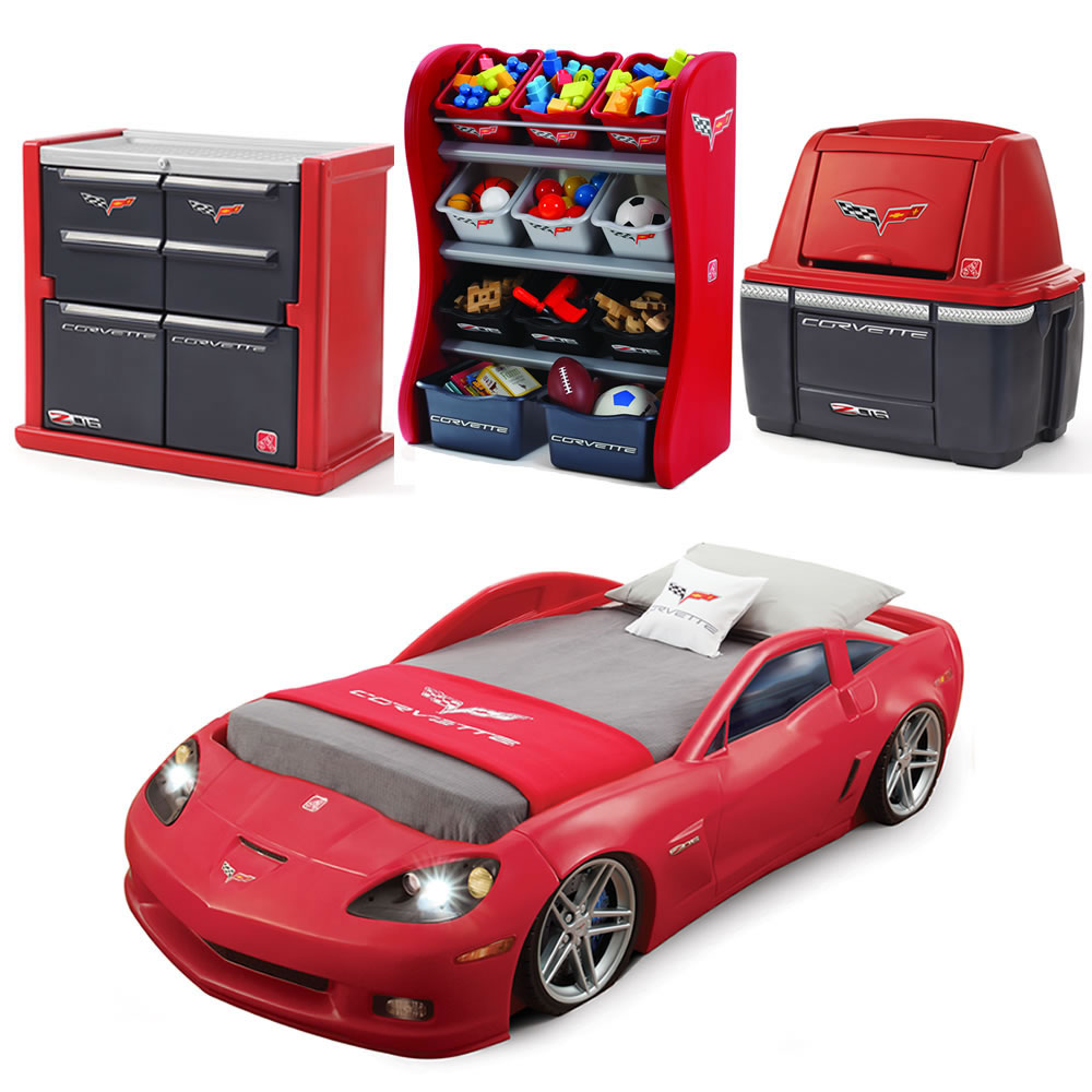 kids car bedroom set corvette bedroom combo