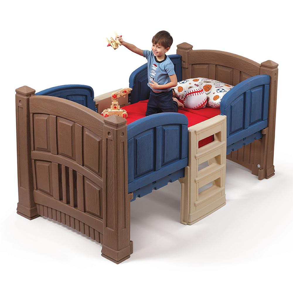 Boy S Loft Amp Storage Twin Bed Kids Furniture By Step2