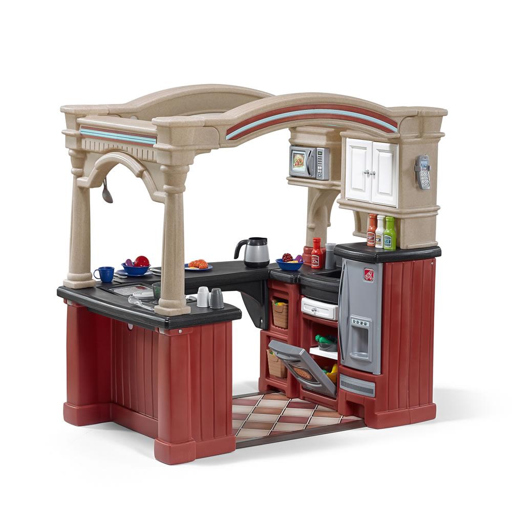 Grand Walk In Kitchen Play Kitchens Step2