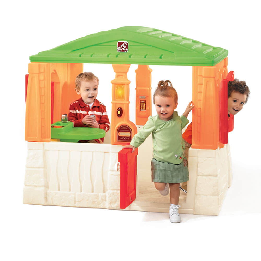 Neat Amp Tidy Cottage Active Brights Playhouses By Step2