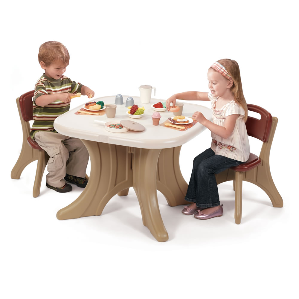 New Traditions Table Amp Chairs Set Table Amp Chair Sets Step2