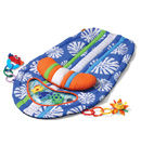 Click to View Product Details for Surfboard Tummy Time Mat - Blue