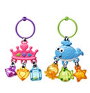 Click to View Product Details for Link & Jingle Activity Rattle - Tiara/Whale