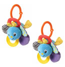 Click to View Product Details for Peek-A-Boo Rattle - Bugs