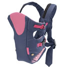 Click to View Product Details for Cool Vented Carrier-Navy/Pink