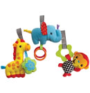 Click to View Product Details for Pop &amp; Play 3-Piece Plush Pods Jungle