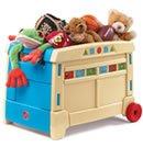 Click to View Product Details for Lift & Roll Toy Box