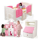 Click to View Product Details for Think Pink Kid's Bedroom Set