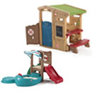 Click to View Product Details for Toddler Time Clubhouse & Climber Combo