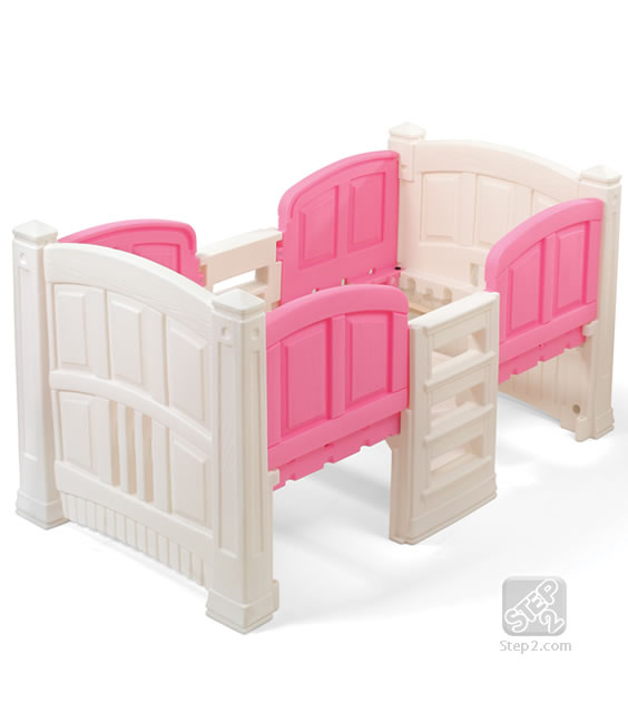 Click to View Product Details for Girl's Loft & Storage Twin Bed™