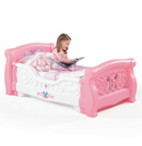 Click to View Product Details for Girls Toddler Sleigh Bed