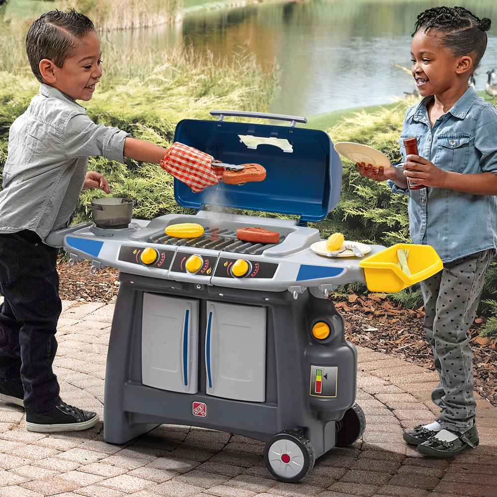 Just Like Home Sizzle Amp Smoke Barbeque Grill Kids