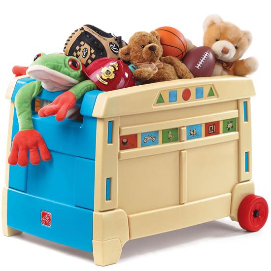 Lift & Roll Toy Box