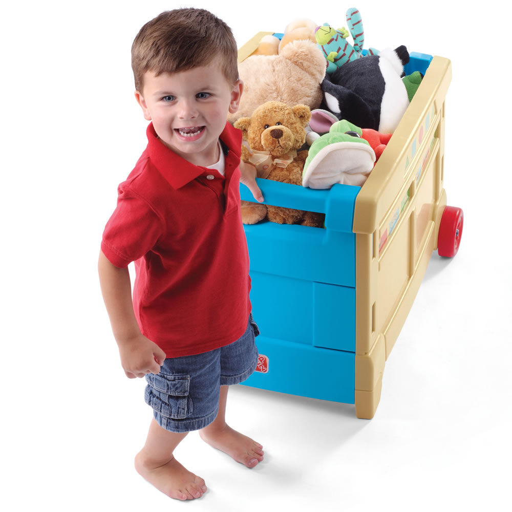 Step2 Lift & Roll Toy Box built in handle