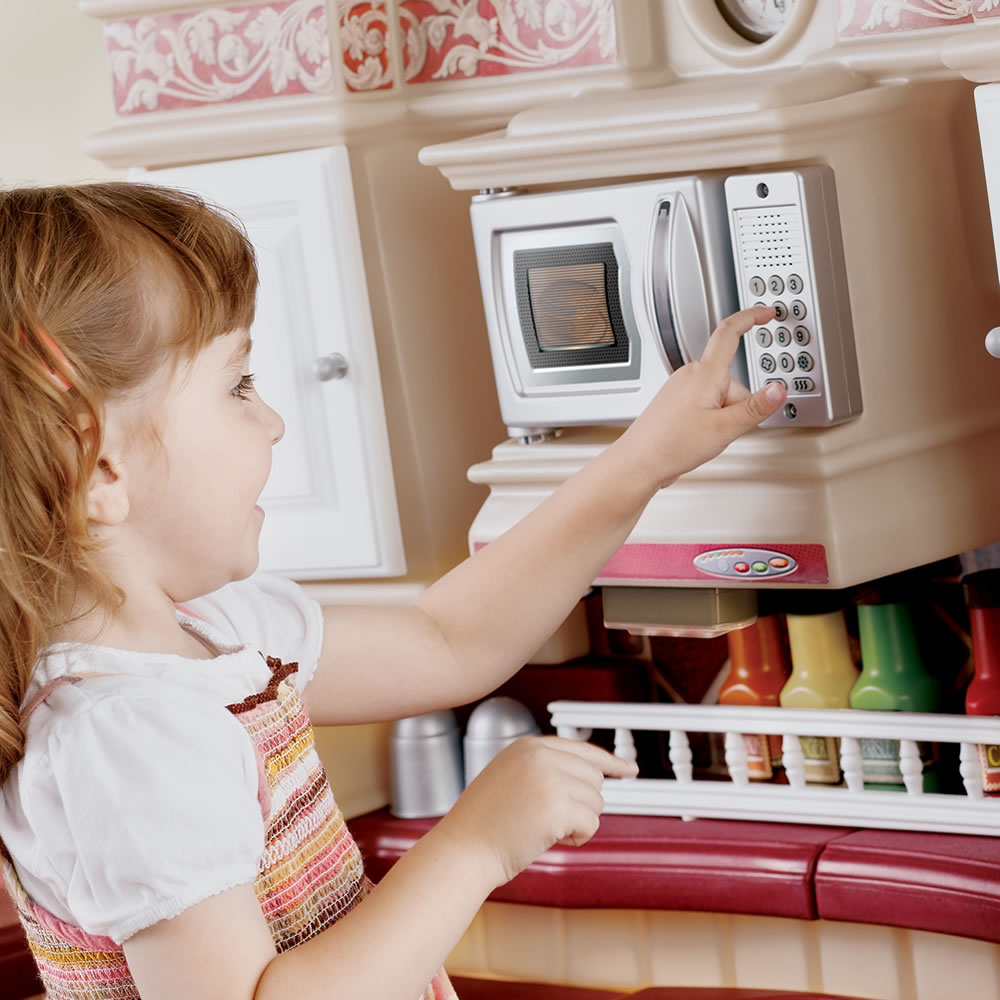 Play Kitchen With Working Electronic Features