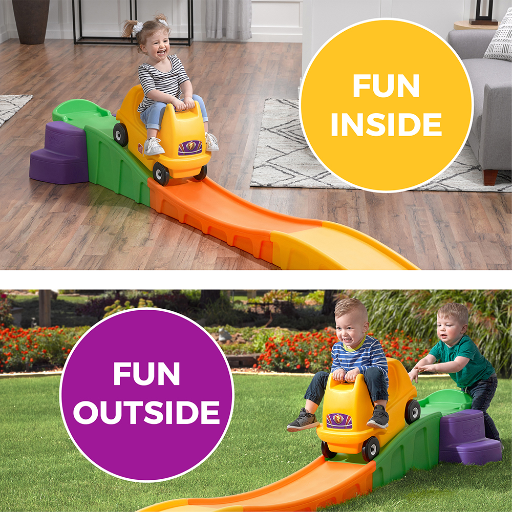 Up & Down Roller Coaster non slip steps