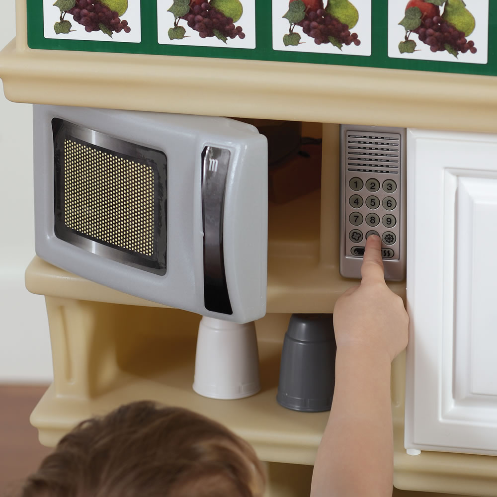 play kitchen plate rack of Deluxe Kitchen