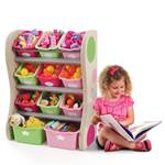 Kids bedroom storage bins