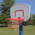 Step2 Shootin' Hoops Pro Basketball Set break away rim