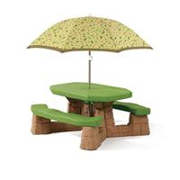 Naturally Playful® Picnic Table with Umbrella