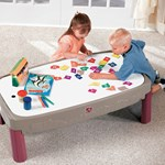Step2 Deluxe Canyon Road Train & Track Table White Board Lid