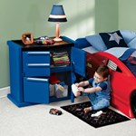 car inspired kid's dresser