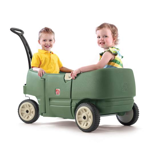 Wagon For Two Plus - Green