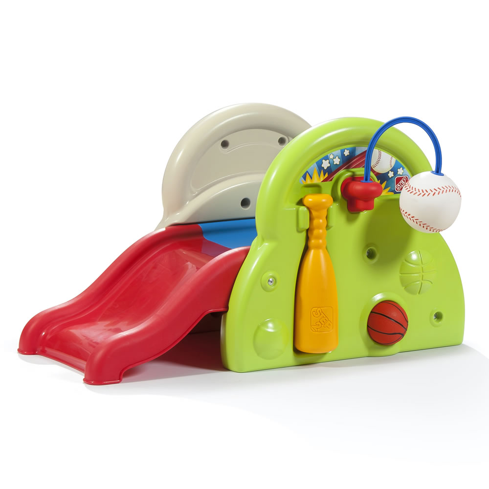 Sports Tastic Activity Center Kids Slide Step2