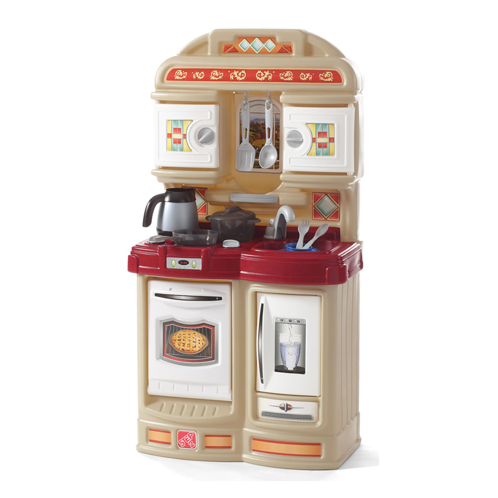 Cozy kitchen kids play kitchen step2 for Toddler kitchen set