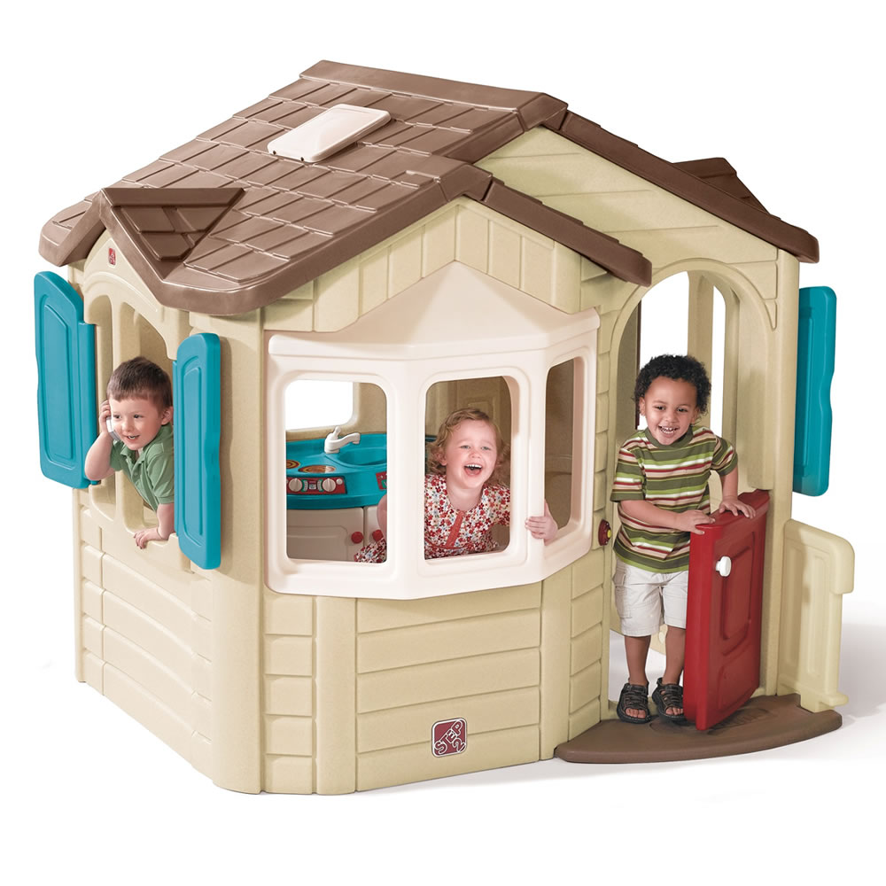 Step Naturally Playful Welcome Home Playhouse Free Shipping
