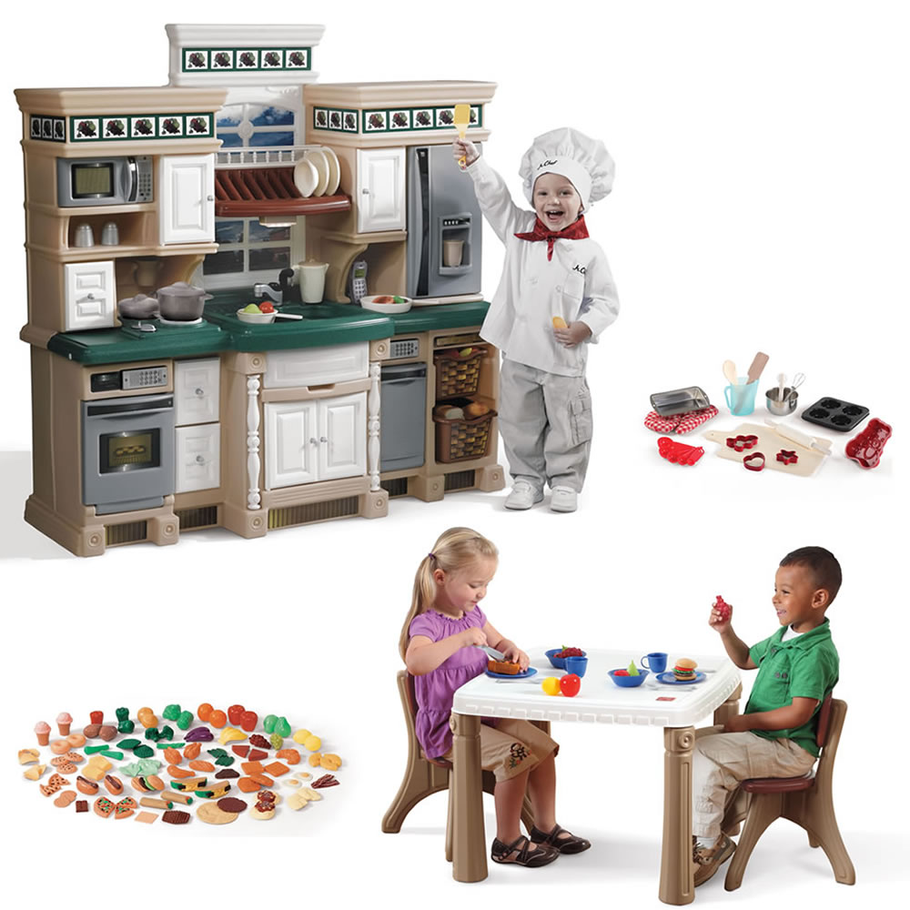 Deluxe Kitchen Play Set