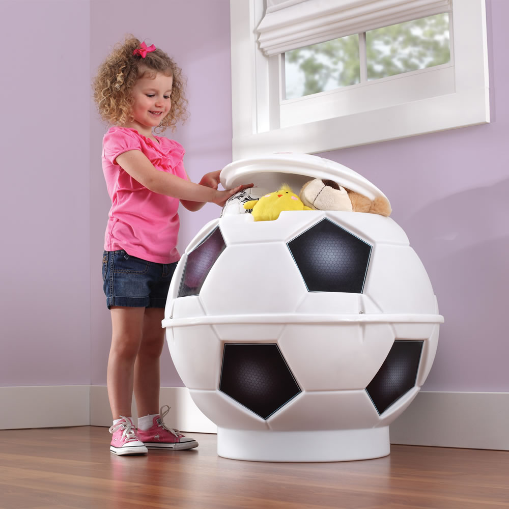 Soccer Ball Toy Chest Kids Toy Box Step2