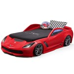 Corvette® Toddler to Twin Bed with Lights