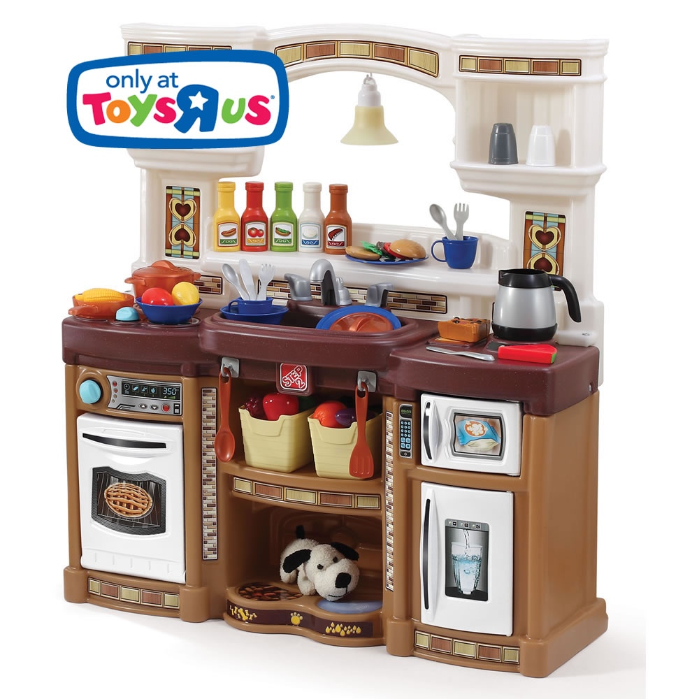 Rise shine kitchen retailer exclusives step2 for Kitchen set at toys r us
