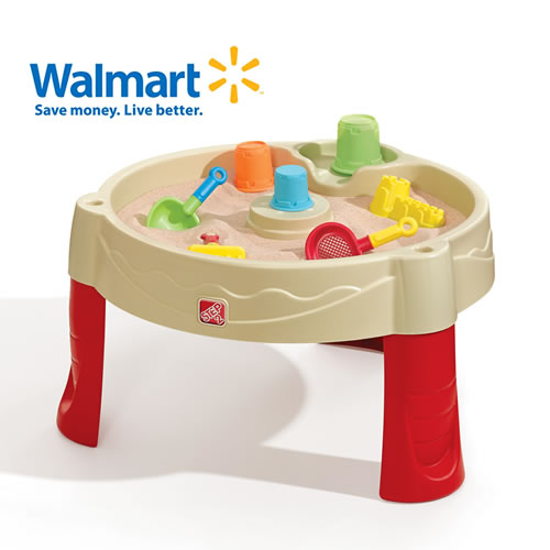 Sand Castle Play Table Sand Amp Water Play By Step2