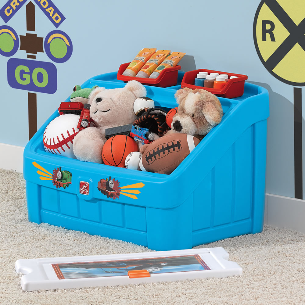 open train toy chest