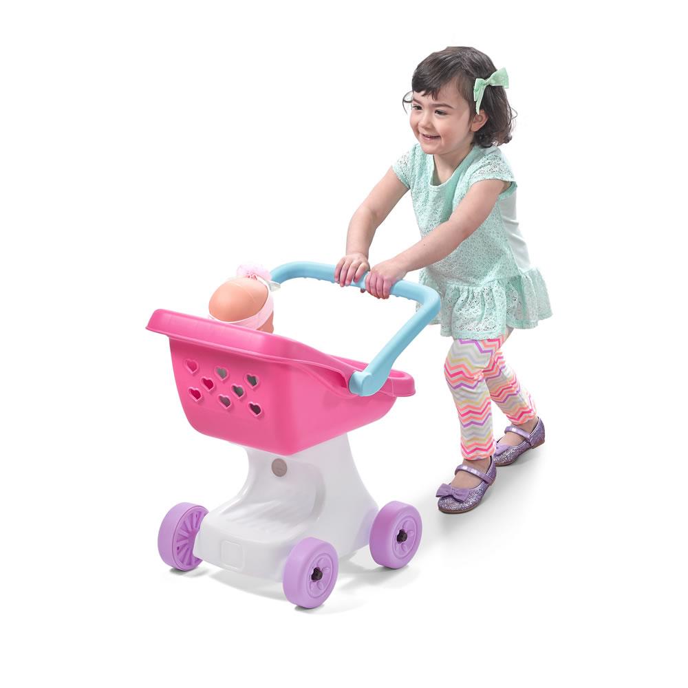 Love Amp Care Doll Stroller Kids Pretend Play Step2