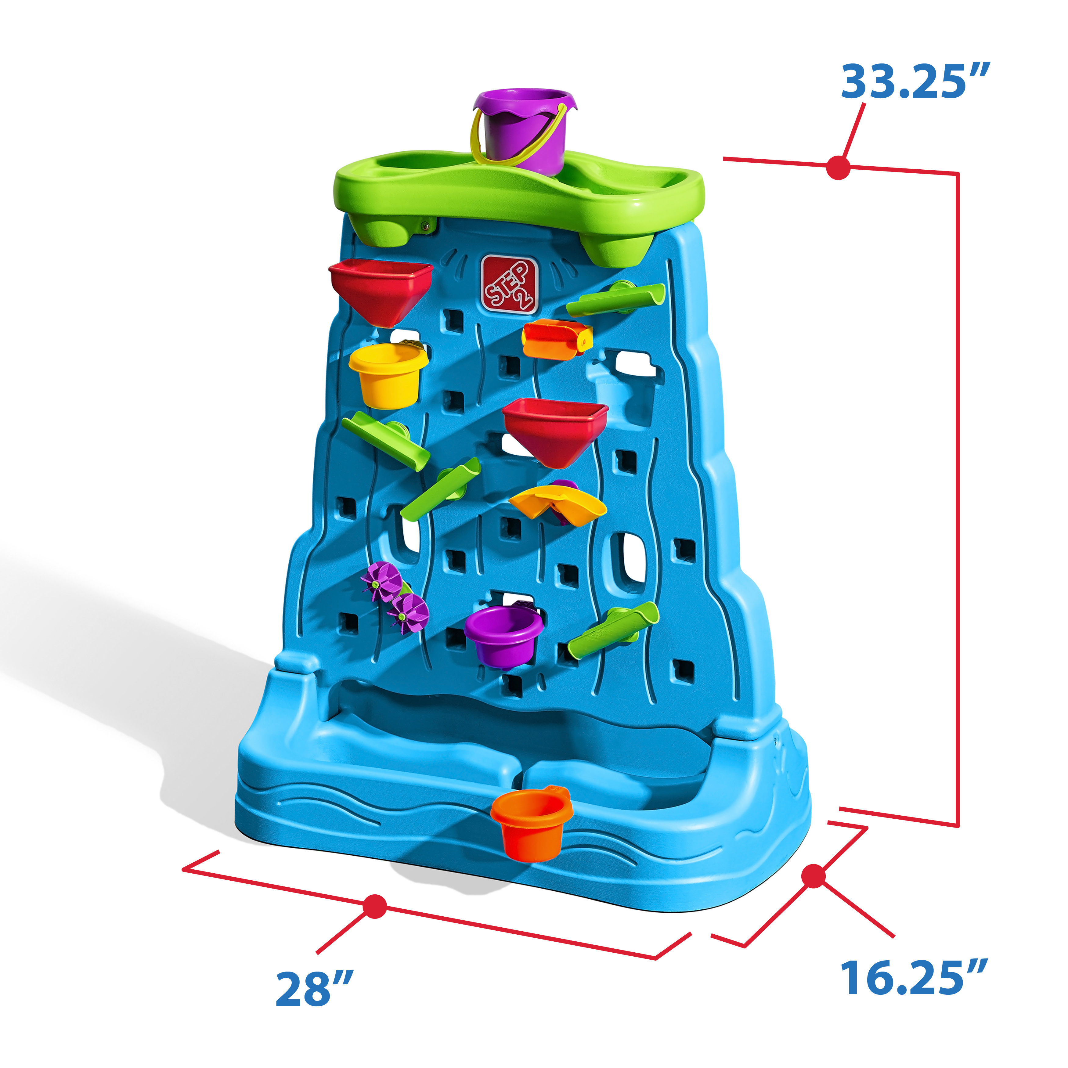 Waterfall Discovery Wall Kids Sand Amp Water Play Step2