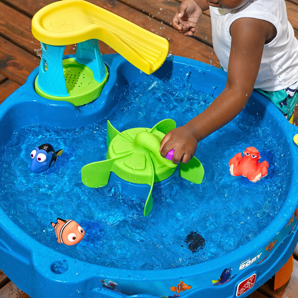 Finding Dory Swim Swirl Water Table on Dora Birthday Party Activities