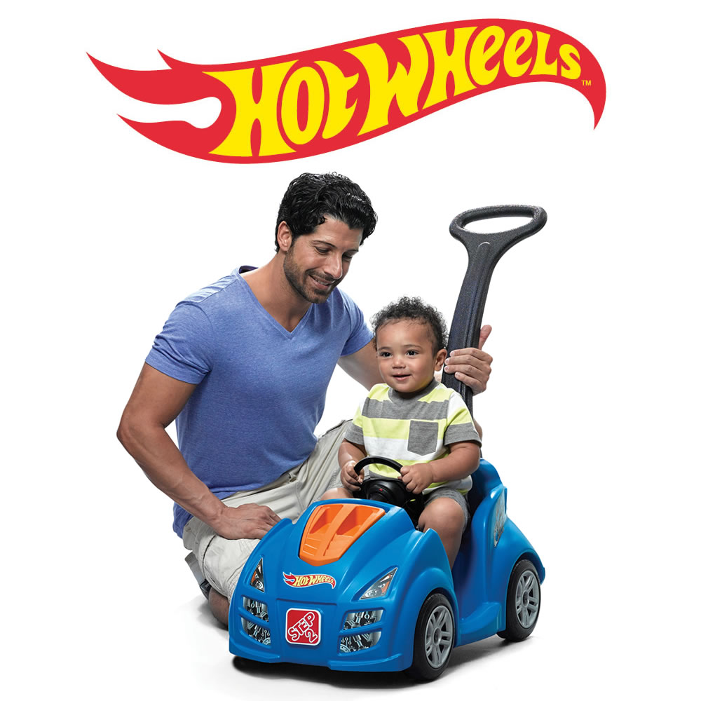Step2 Hot Wheels Push Around Racer
